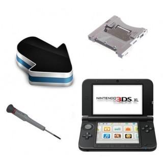 Réparation lecteur carte slot 1 Nintendo 3DS XL