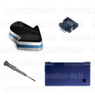 Réparation connecteur P18 P10 Nintendo DSi