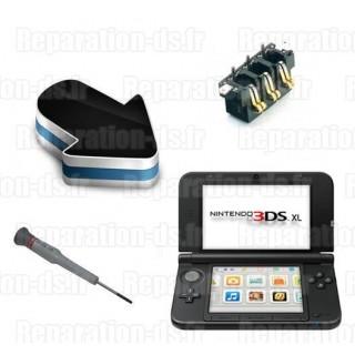 Réparation contacteur connecteur batterie 3DS XL