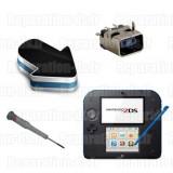 Réparation connecteur chargeur prise Nintendo 2DS