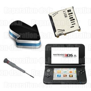 Réparation lecteur carte SD Nintendo 3DS XL