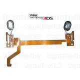 Nappe 3D Hauts-parleurs Volume Nintendo New 3DS