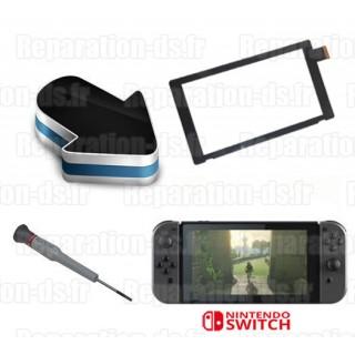 Réparation écran vitre tactile Nintendo Switch