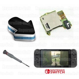 Réparation lecteur cartes jeux SLOT 1 Nintendo Switch