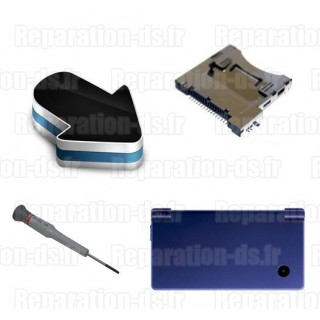 Réparation lecteur carte slot 1 DSi