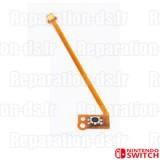 Nappe bouton gachette ZL Joy-con gauche Switch