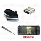 Réparation connecteur alimentation chargeur Nintendo Switch